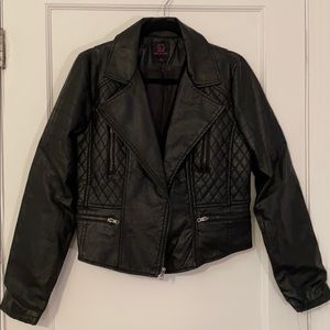 Jacket Material Girl Faux Leather